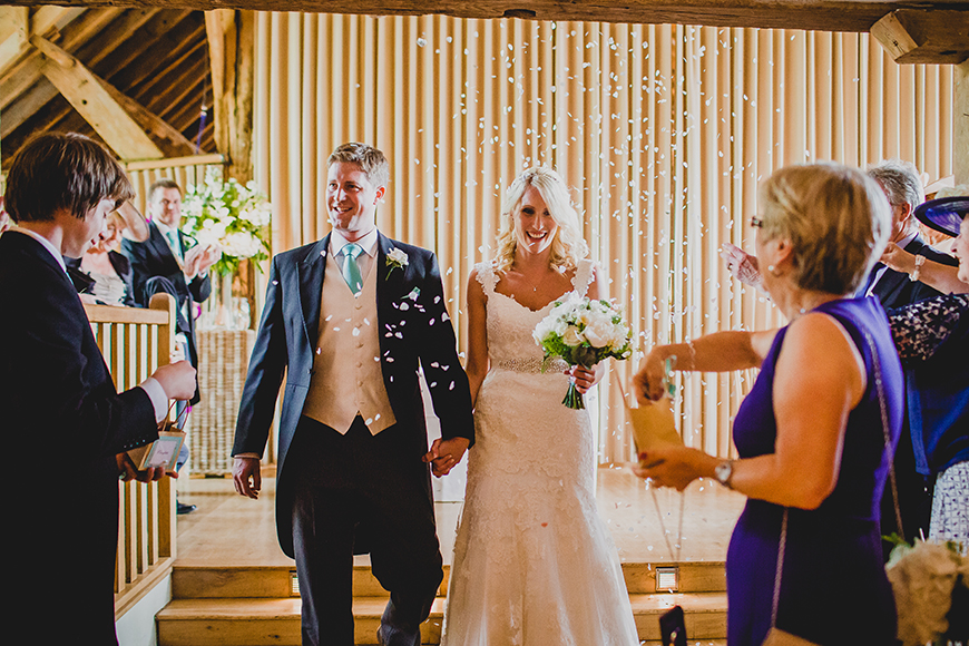 20 Modern Wedding Venues That You Have To See - Bury Court Barn   CHWV