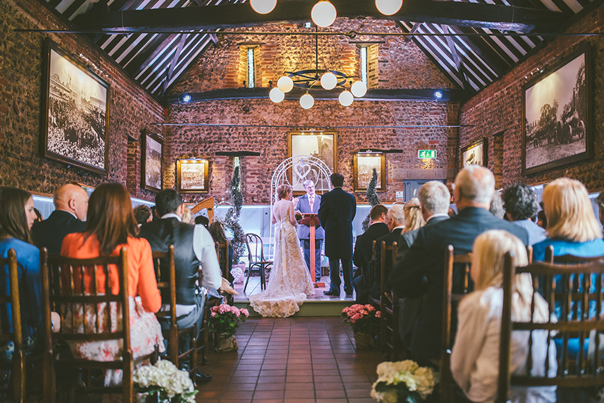 20 Modern Wedding Venues That You Have To See - Thursford Garden Pavilion   CHWV