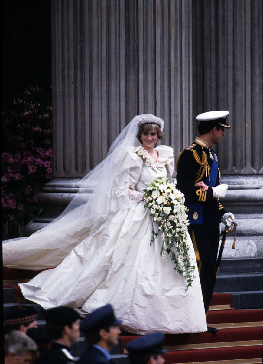 13 Of The Most Expensive Celebrity Wedding Dressess - Diana, Princess of Wales | CHWV