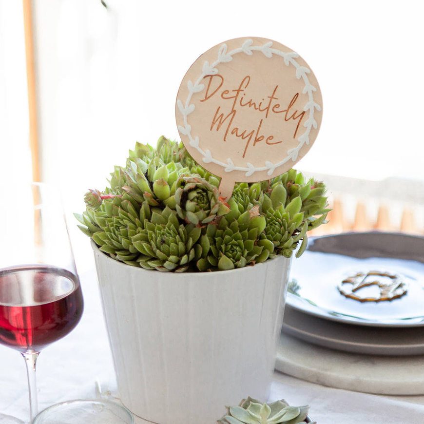 30 Amazing Wedding Table Name Ideas - Rom-coms all round | CHWV