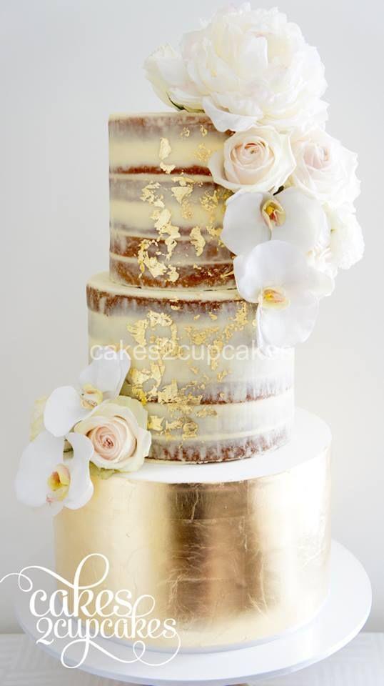 Trend Alert: Naked Wedding Cakes | CHWV