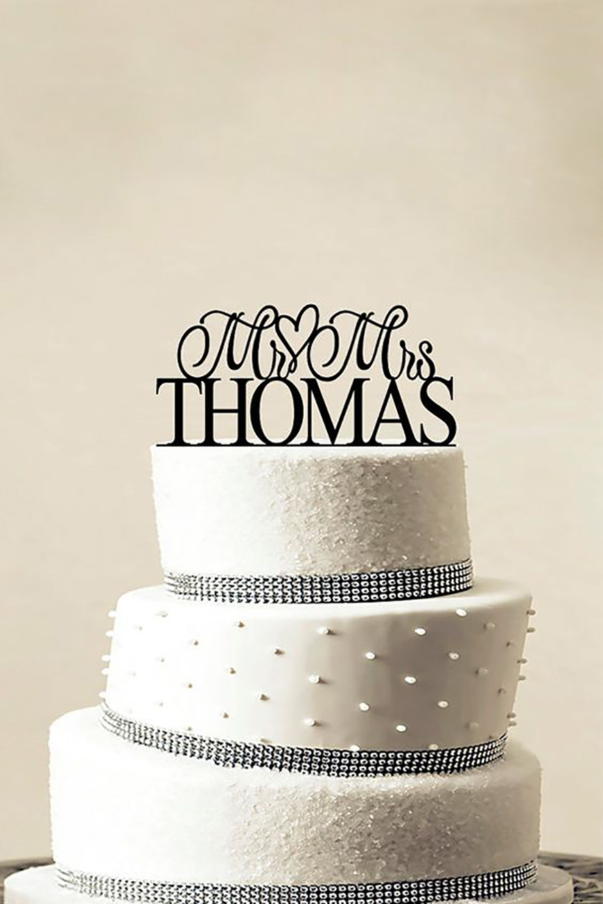 Navy Wedding Cake Decorations - To make you smile | CHWV