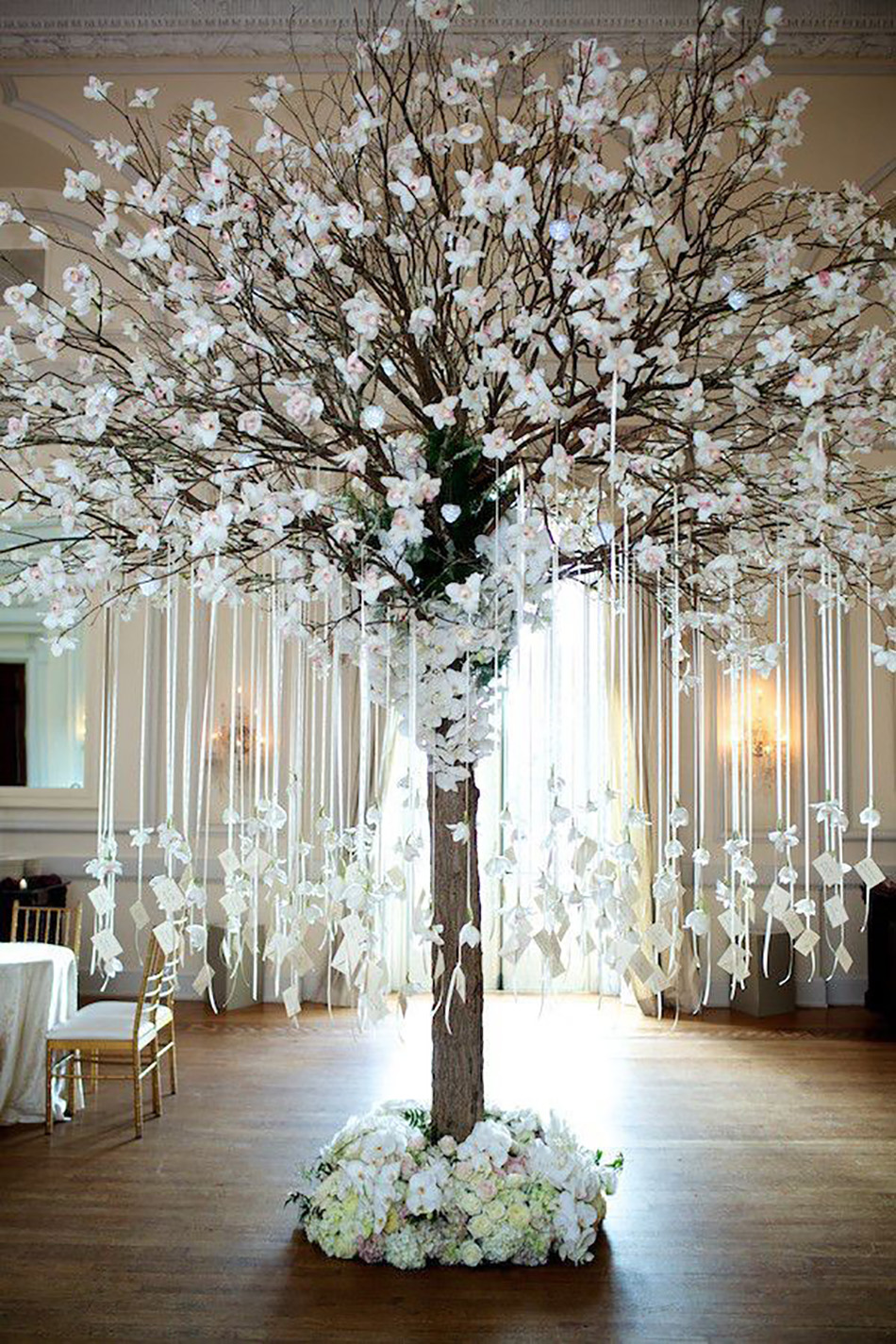 decorative trees for weddings new year s wedding ideas chwv 3464