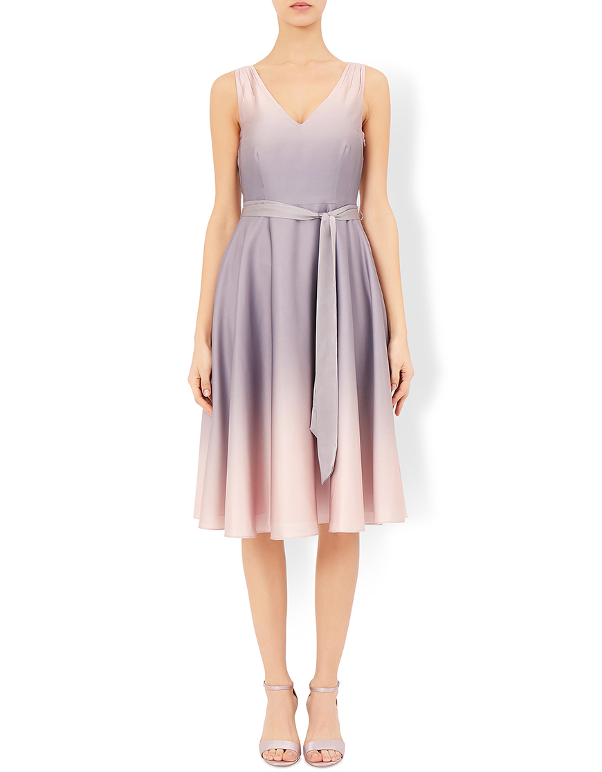 New High-street Bridesmaid Fashion For 2017 - Ombre dress | CHWV