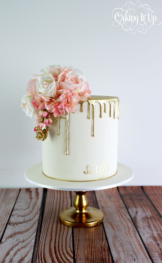 Non-Traditional Wedding Cakes – Drip Cakes - Caking it up | CHWV