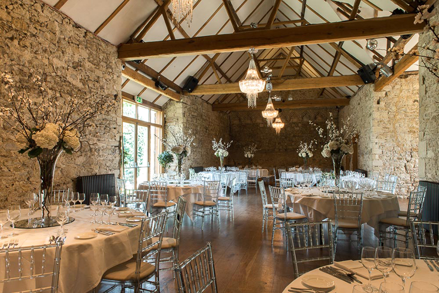 Perfect Wedding Venues For A Spring Wedding - Notley Abbey | CHWV