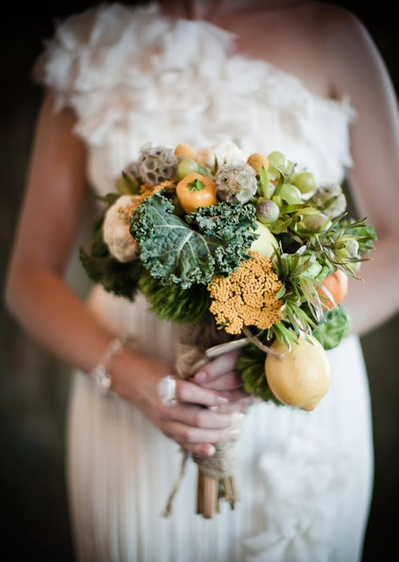 Bring the outside in with your wedding flowers