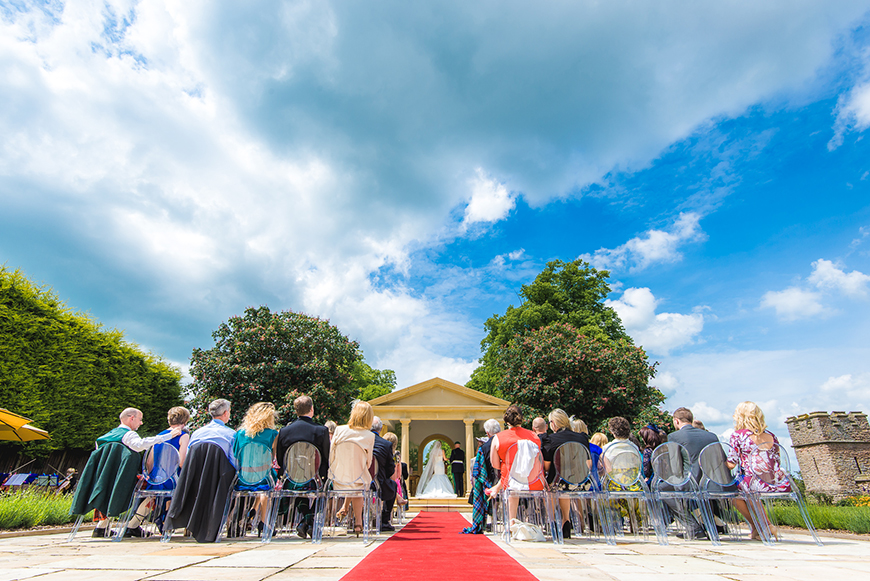 7 Incredible Outdoor Wedding Venues In The Midlands - Rowton Castle | CHWV