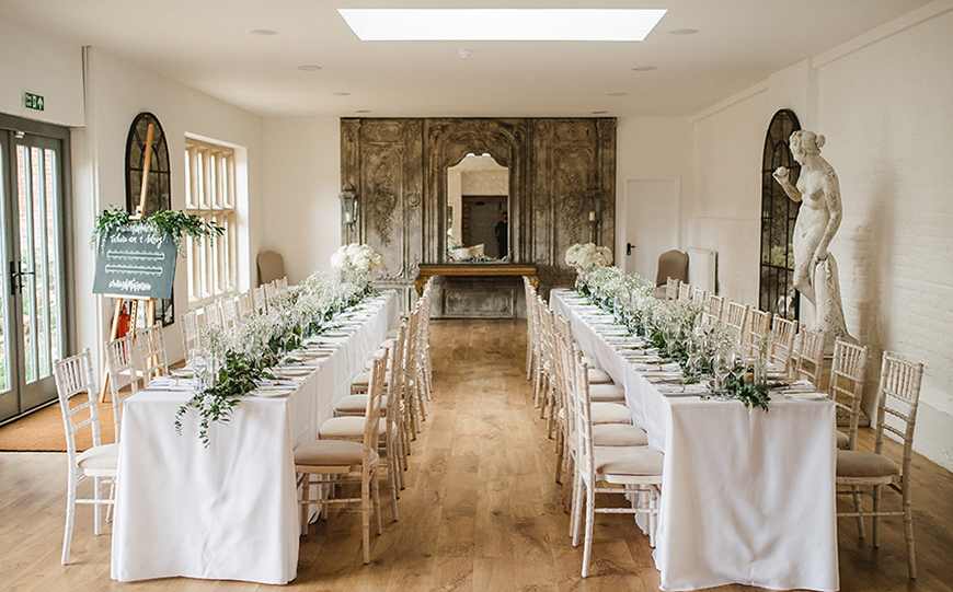 The Best Country House Wedding Venues For An Autumn Wedding - Oxnead Hall | CHWV