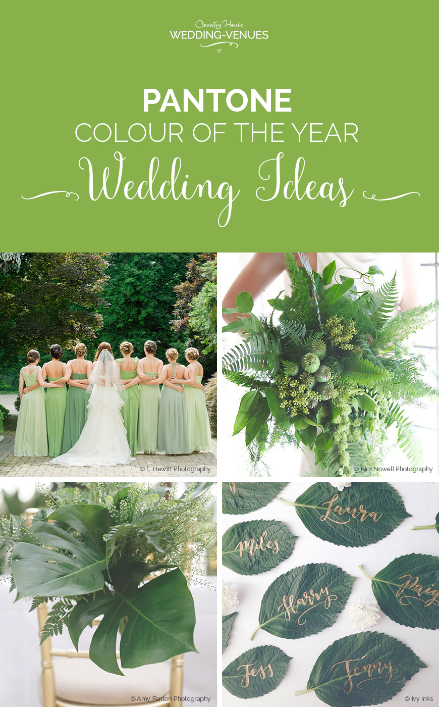Wedding Ideas by Colour: Pantone Colour of Year Wedding Ideas | CHWV