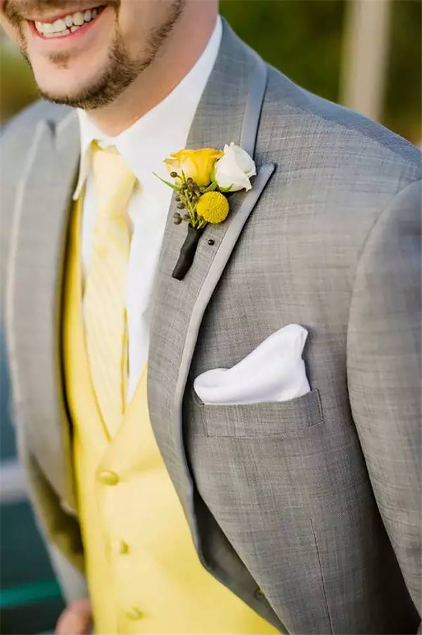 Wedding Ideas By Colour: Pastel Wedding Suits | CHWV