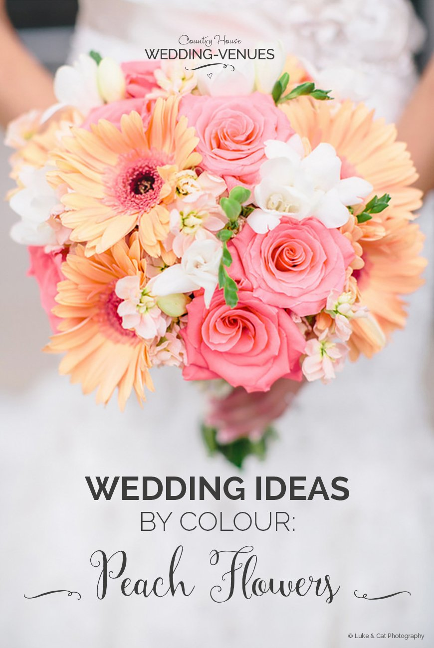 Peach Wedding Ideas | Wedding Ideas By Colour | CHWV