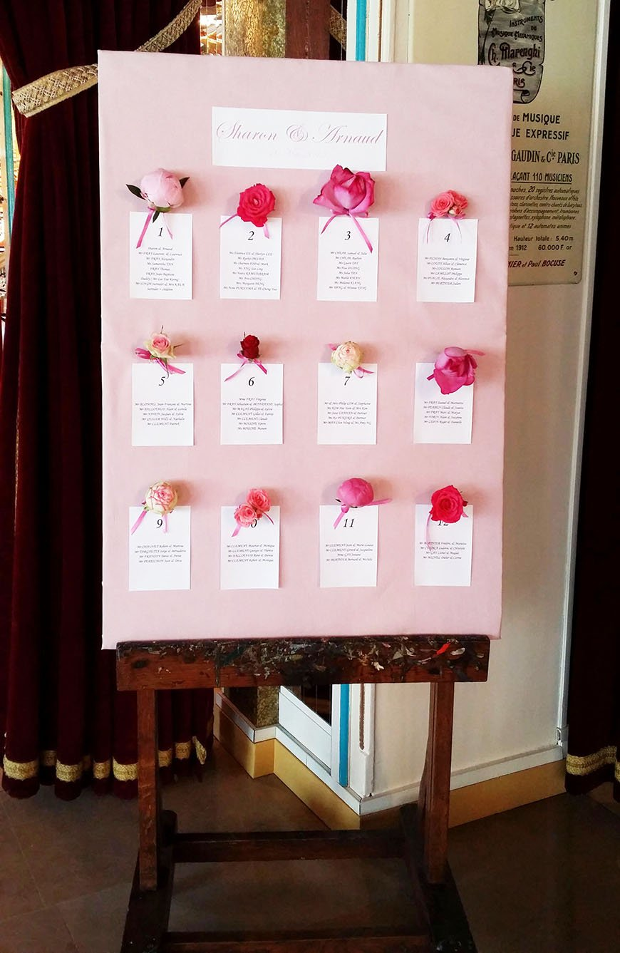 Peach Wedding Table Plan Ideas Wedding Ideas By Colour
