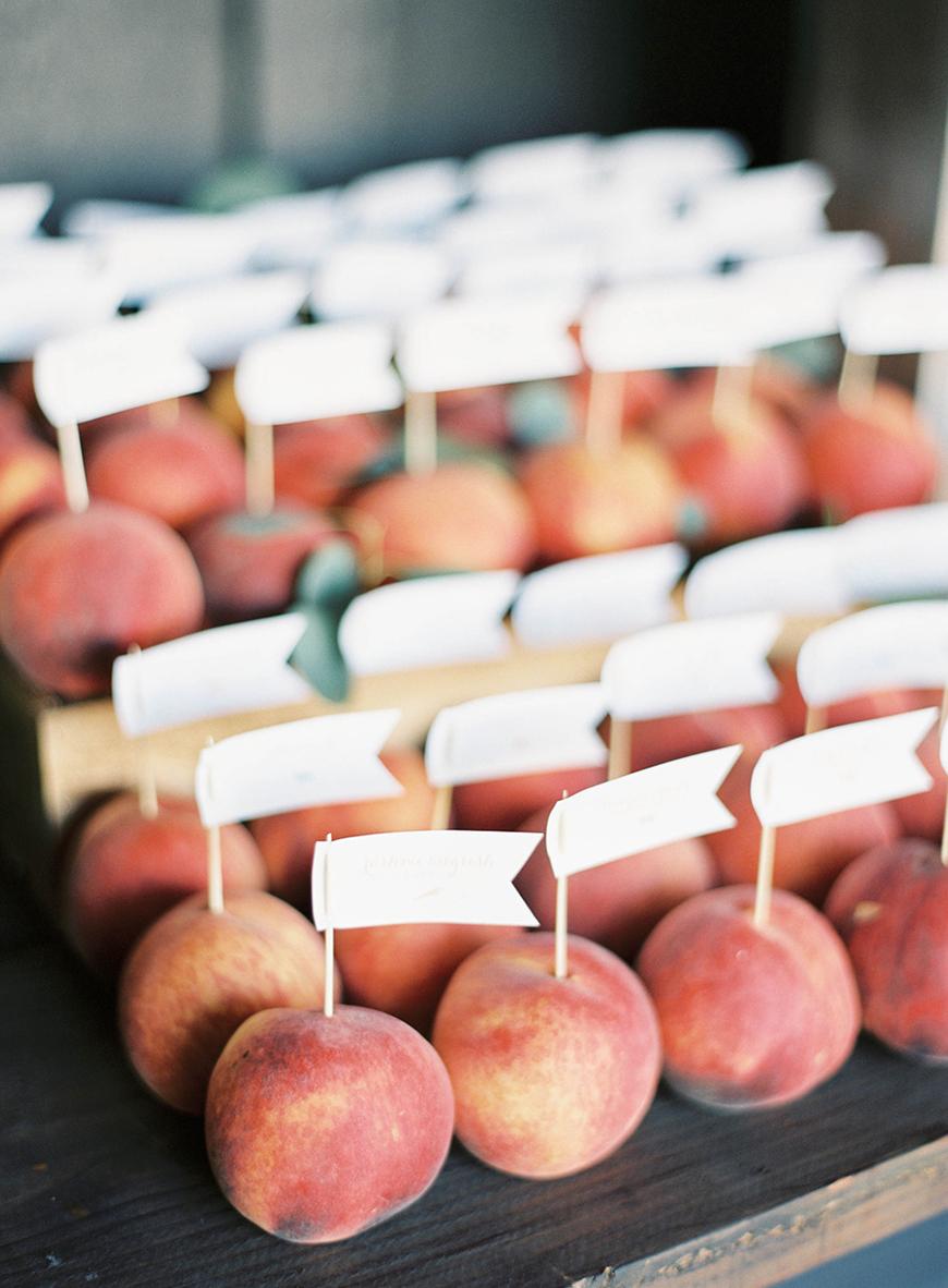 Wedding Ideas by Colour: Peach Wedding Table Plan Ideas - Just peachy | CHWV