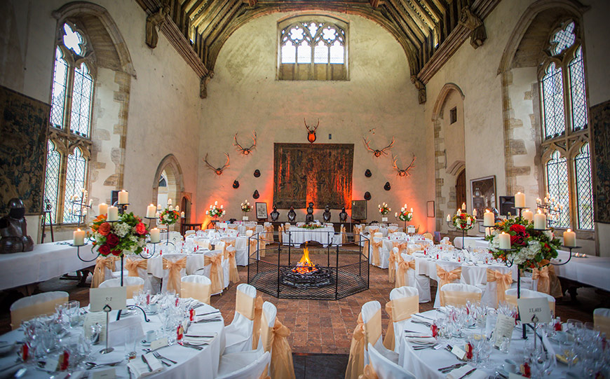 The Best Country House Wedding Venues For An Autumn Wedding - Penshurst Place | CHWV