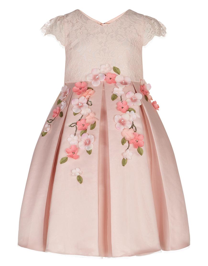 Peach flowergirl dresses | Wedding Ideas | CHWV