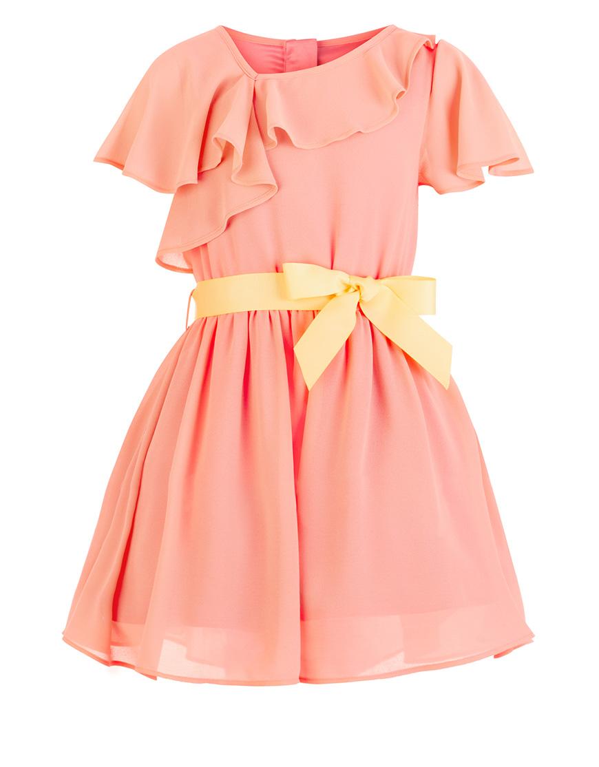 Wedding ideas by colour: 9 Perfect Peach Flower Girl Dresses - Zerin dress   CHWV