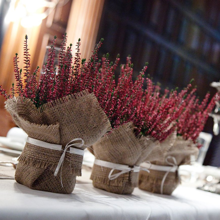 How To Give The Perfect Rustic Wedding Favours - Gifts from nature | CHWV