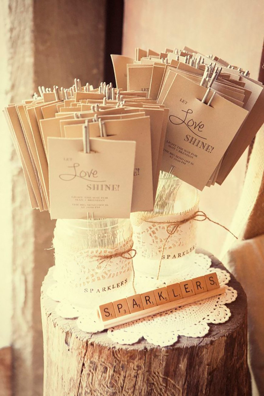 How To Give The Perfect Rustic Wedding Favours - Rustic wrapping | CHWV