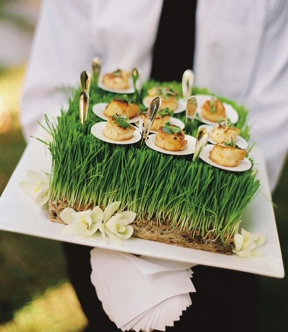 Wedding trends summer inspiration for the perfect wedding for Wedding canape alternatives