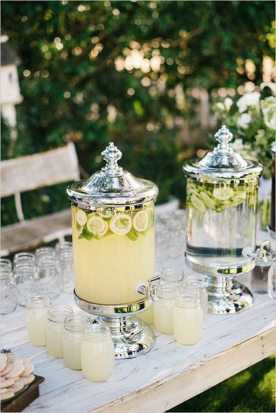Trend Alert – Summer Inspiration for The Perfect Wedding Drinks Reception - Chilled water | CHWV