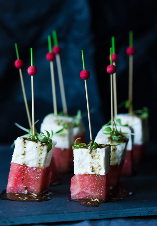 Trend Alert – Summer Inspiration for The Perfect Wedding Drinks Reception - Canapes | CHWV