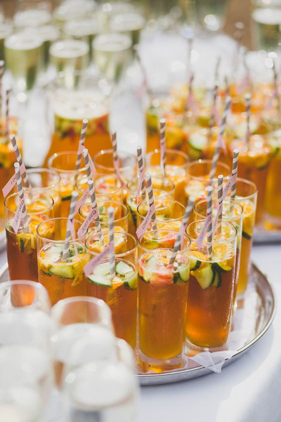 Wedding trends summer inspiration for the perfect wedding for Summer drinks for party
