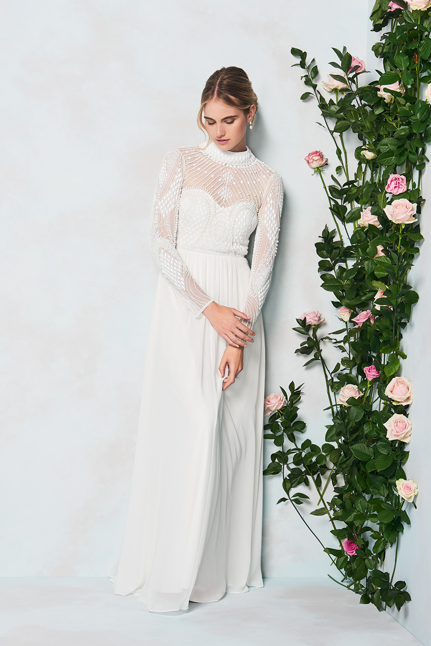 Phase Eight Introduce New Line of Beautiful High Street Wedding Dresses - Cadie Dress | CHWV