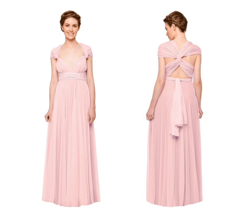 Wedding Ideas by Colour: Pink Bridesmaid Dresses | CHWV