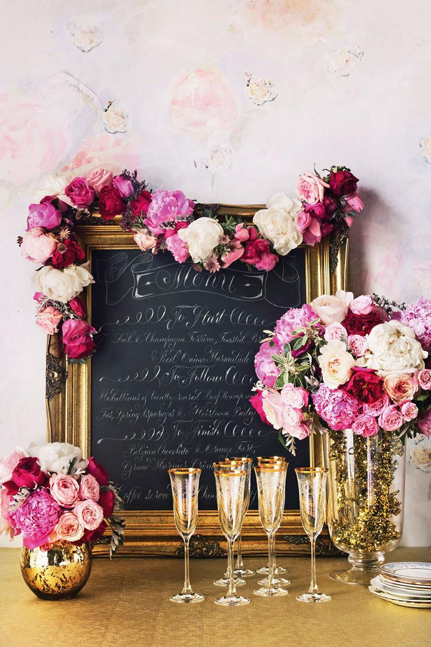 Pink wedding decorations wedding ideas by colour chwv for Wedding venue decoration ideas