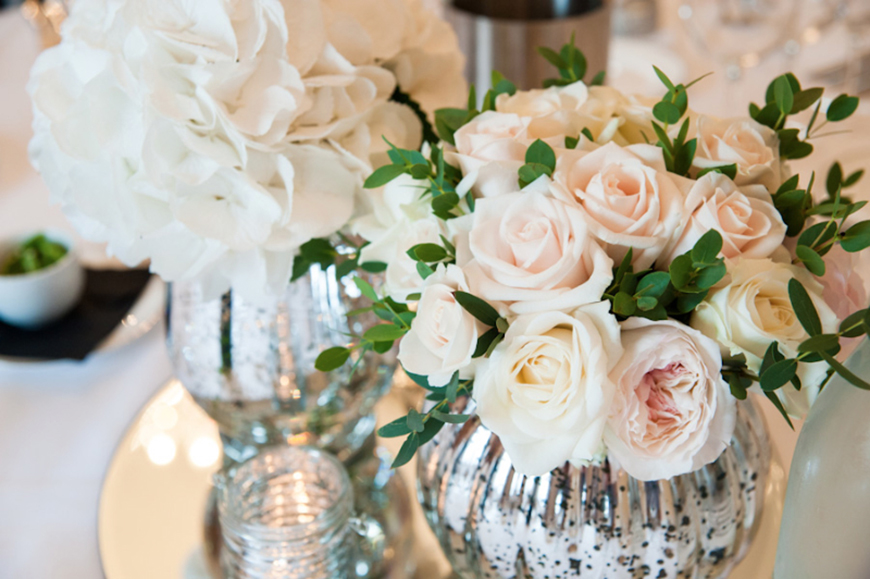 Wedding Ideas By Colour: Pink Wedding Decorations - On the table | CHWV