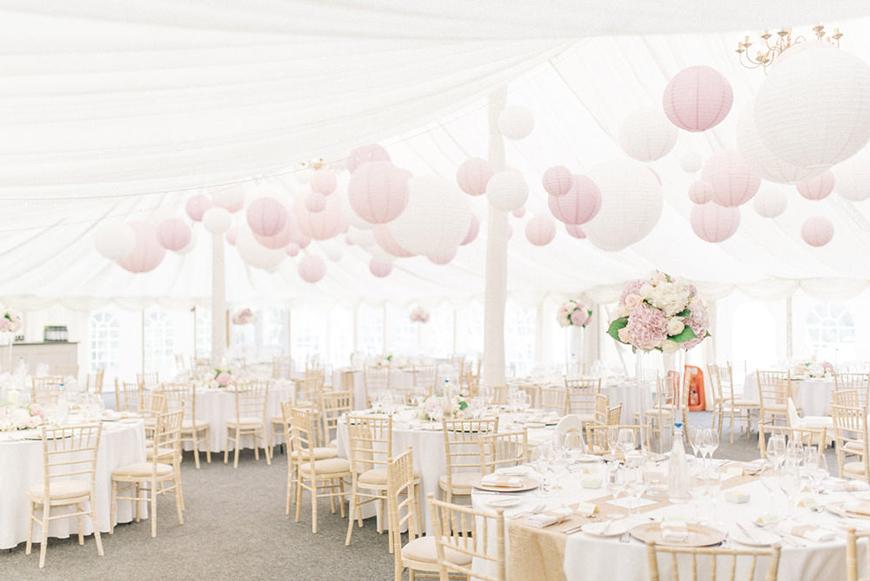 Wedding Ideas By Colour: Pink Wedding Decorations - Venue Style | CHWV