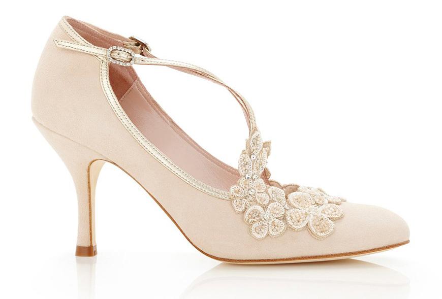 Wedding Ideas by Colour: Pink Wedding Shoes | CHWV