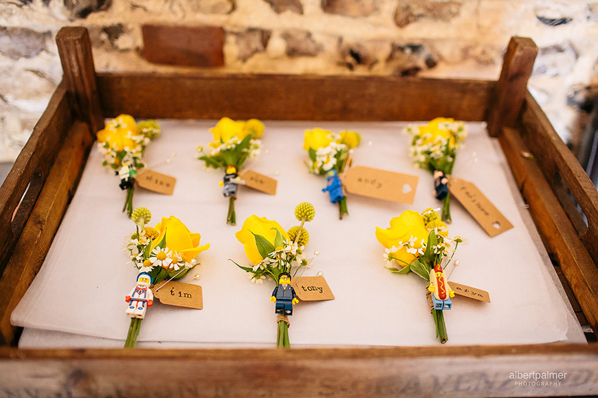The Best Quirky Wedding Accessories For Grooms - Buttonholes | CHWV