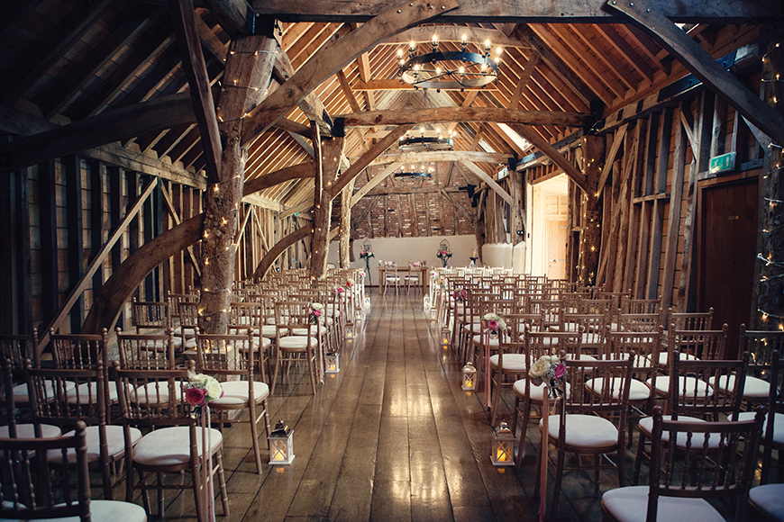 34 Romantic Wedding Venues That You'll Fall In Love With - Bassmead Manor Barns | CHWV