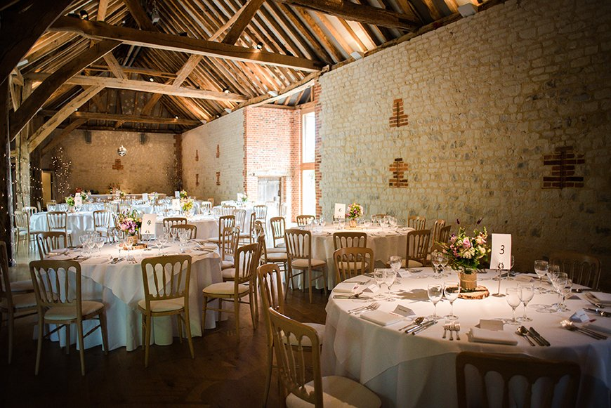 34 Romantic Wedding Venues That You'll Fall In Love With - Bury Court Barn | CHWV