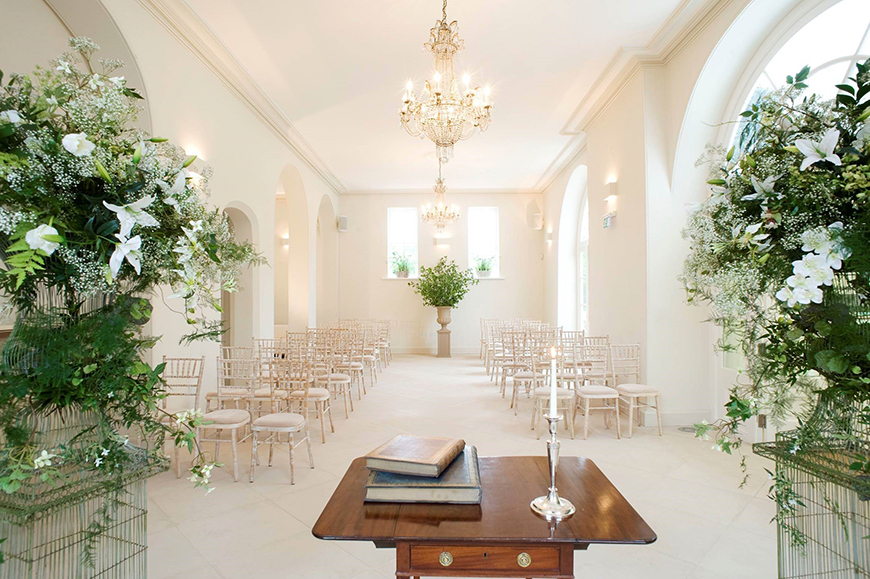 34 Romantic Wedding Venues That You'll Fall In Love With - Iscoyd Park | CHWV