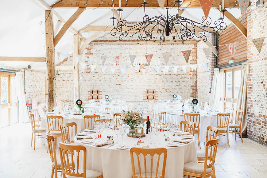 34 Romantic Wedding Venues That You'll Fall In Love With - Upwaltham Barns | CHWV