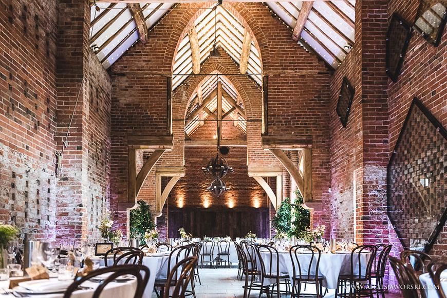 34 Romantic Wedding Venues That You'll Fall In Love With - Shustoke Farm Barns | CHWV