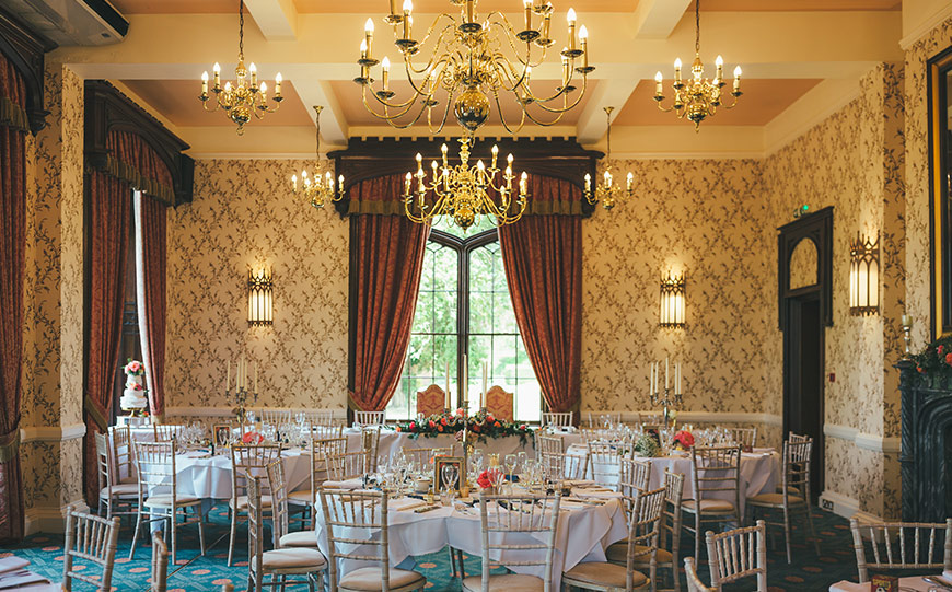 27 Intimate Wedding Venues That You Have To See - Rowton Castle | CHWV