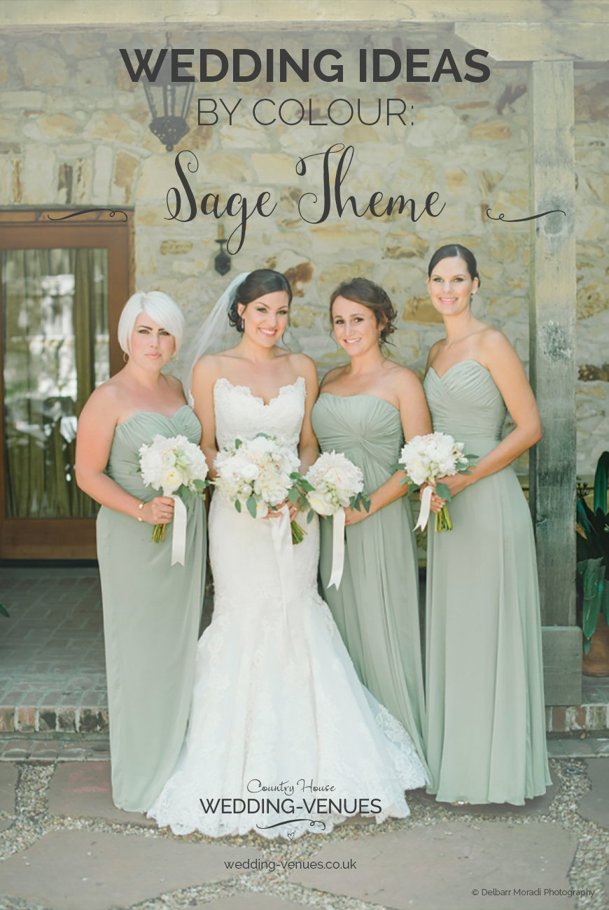 Wedding Ideas By Colour: Sage Green Wedding Theme | CHWV