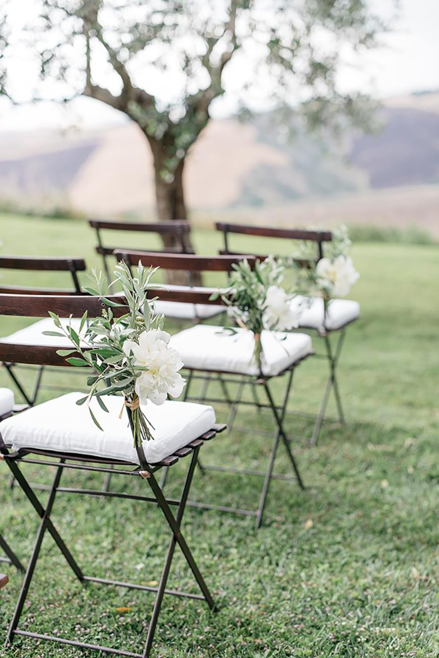 Wedding Ideas By Colour: Sage Green Wedding Theme - Ceremony Style | CHWV