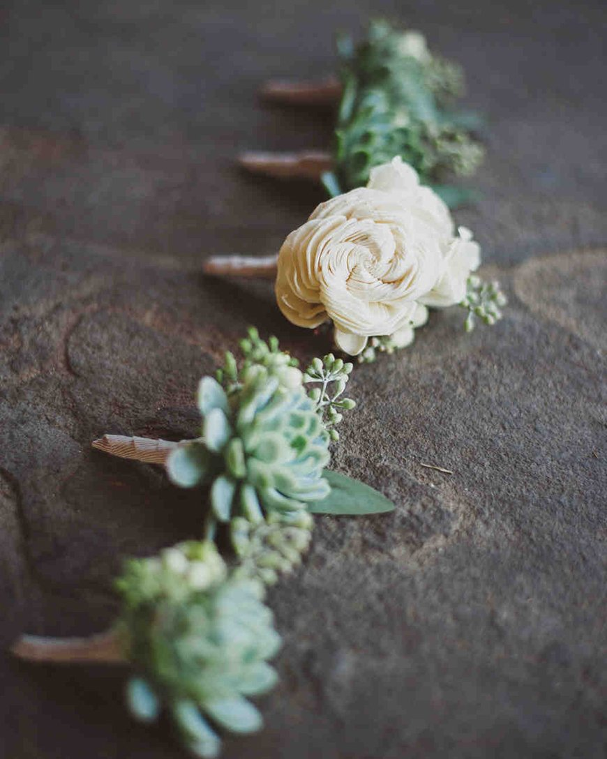 Wedding Ideas By Colour: Sage Green Wedding Theme - And the bride wore... | CHWV