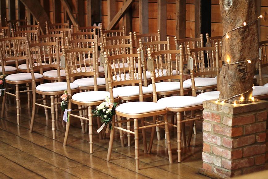 Real Wedding - Sara and Robert's Rustic DIY Wedding Day at Bassmead Manor - Ceremony   CHWV