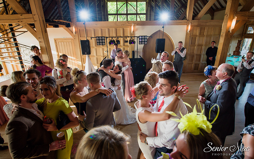 9 ways to keep your wedding guests on the dancefloor - Get out there yourself | CHWV