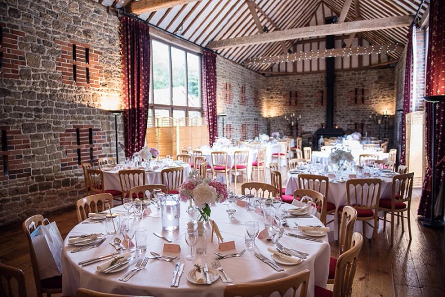 Seven Breathtaking Barn Wedding Venues in West Sussex - Bartholomew Barn | CHWV
