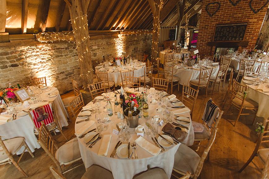 Seven Breathtaking Barn Wedding Venues in West Sussex - Grittenham Barn | CHWV