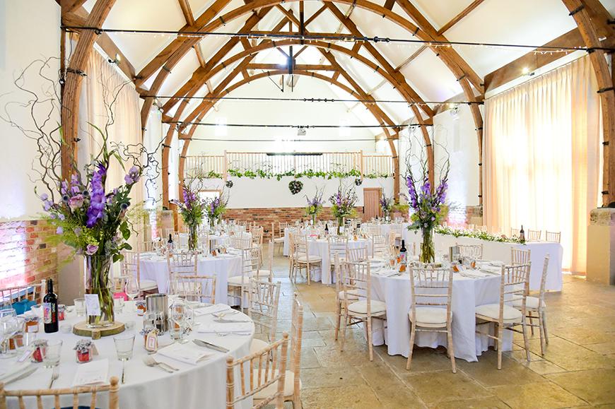 Seven Breathtaking Barn Wedding Venues in West Sussex - Long Furlong Barn | CHWV