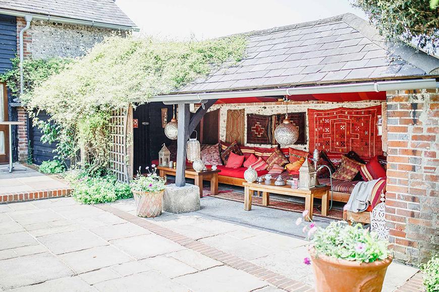 Seven Breathtaking Barn Wedding Venues in West Sussex - Upwaltham Barns | CHWV