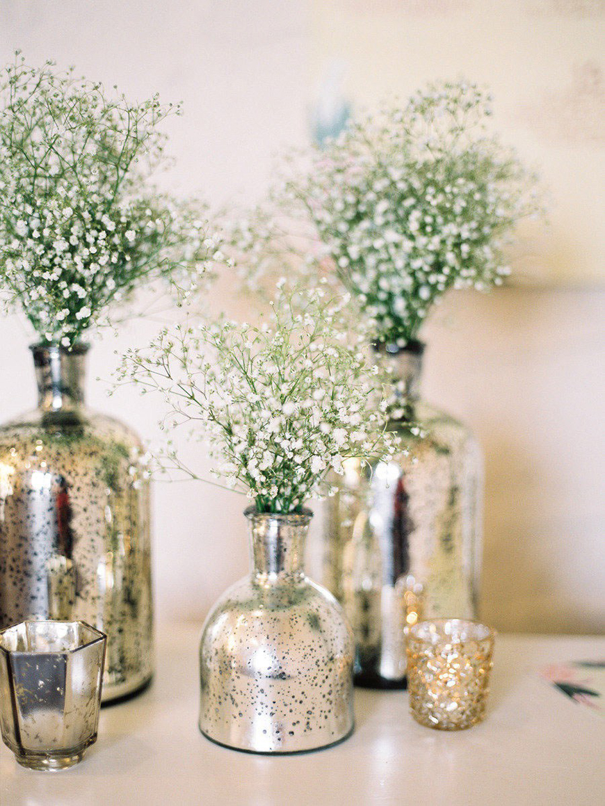 Silver Decorations or your Wedding Cake | Wedding Ideas By